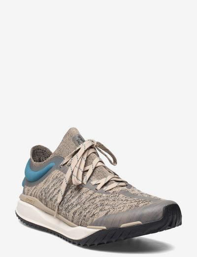 M VECTIV ESCAPE KNIT - chaussures de randonnée - flax/tnf black