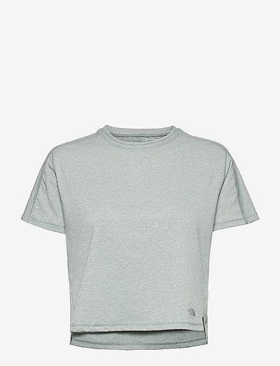 W EA DAWN RELAX S/S - t-shirts - silverbluehethr