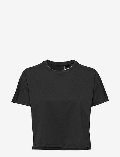 W EA DAWN RELAX S/S - t-shirts - tnf black