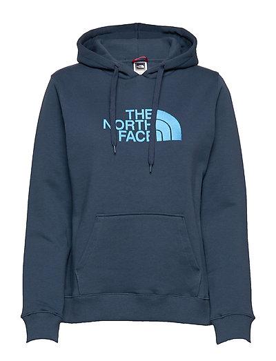W Drew Peak Pull Hd Hoodie Pullover Blau THE NORTH FACE