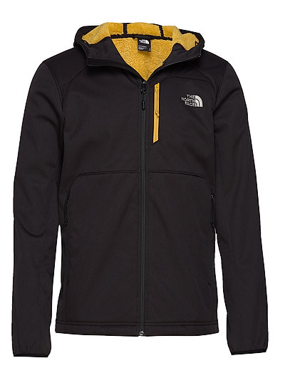 M Quest Hooded Softs Outerwear Sport Jackets Schwarz THE NORTH FACE