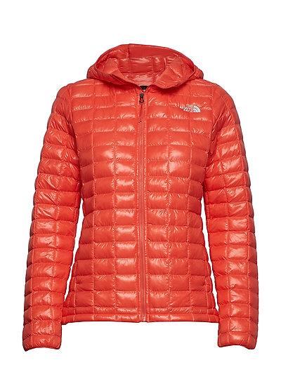 W Thermoball Eco Hoo Gefütterte Jacke Orange THE NORTH FACE