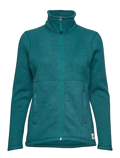W Crescent Fz Sweat-shirt Pullover Grün THE NORTH FACE