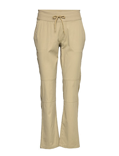W Aphrodite Motn Pan Sport Pants Beige THE NORTH FACE