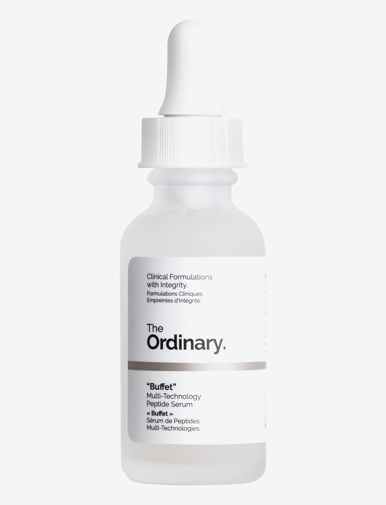 "The Ordinary - ""Buffet"" - serum - clear - 0"