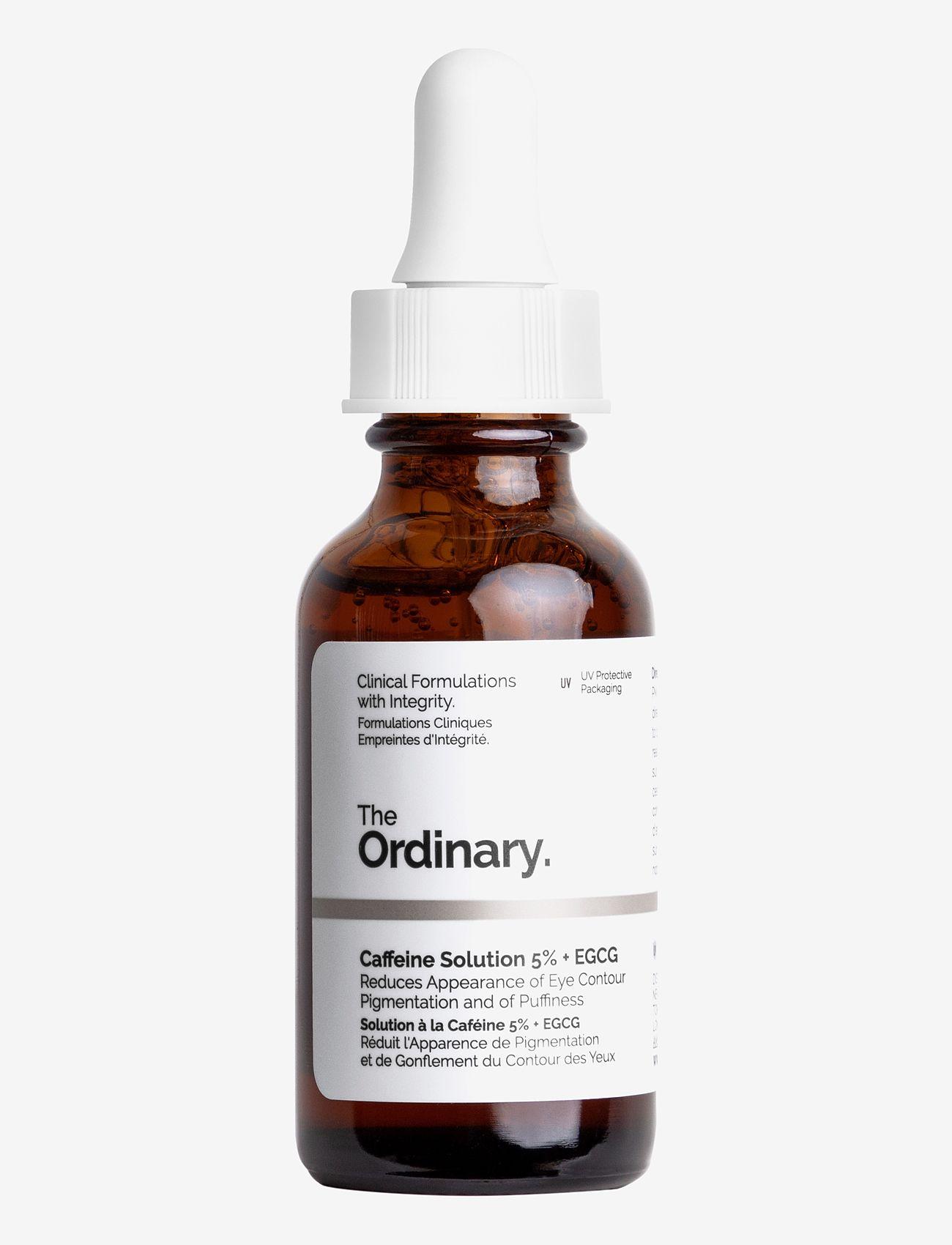 The Ordinary - Caffeine Solution 5% + EGCG - silmänympärysvoide - clear - 0