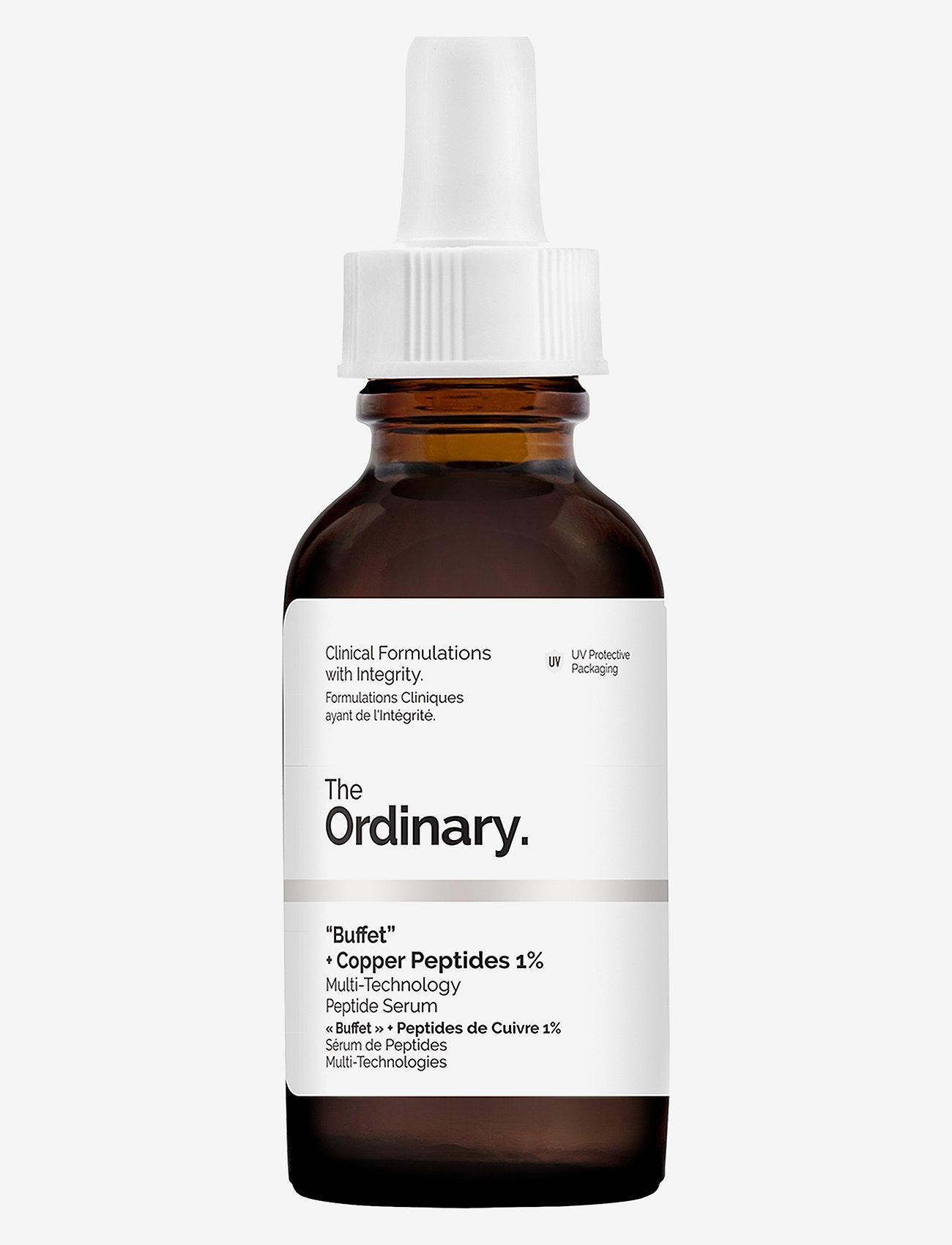 The Ordinary - Buffet + Copper Peptides 1% - serum - clear - 0