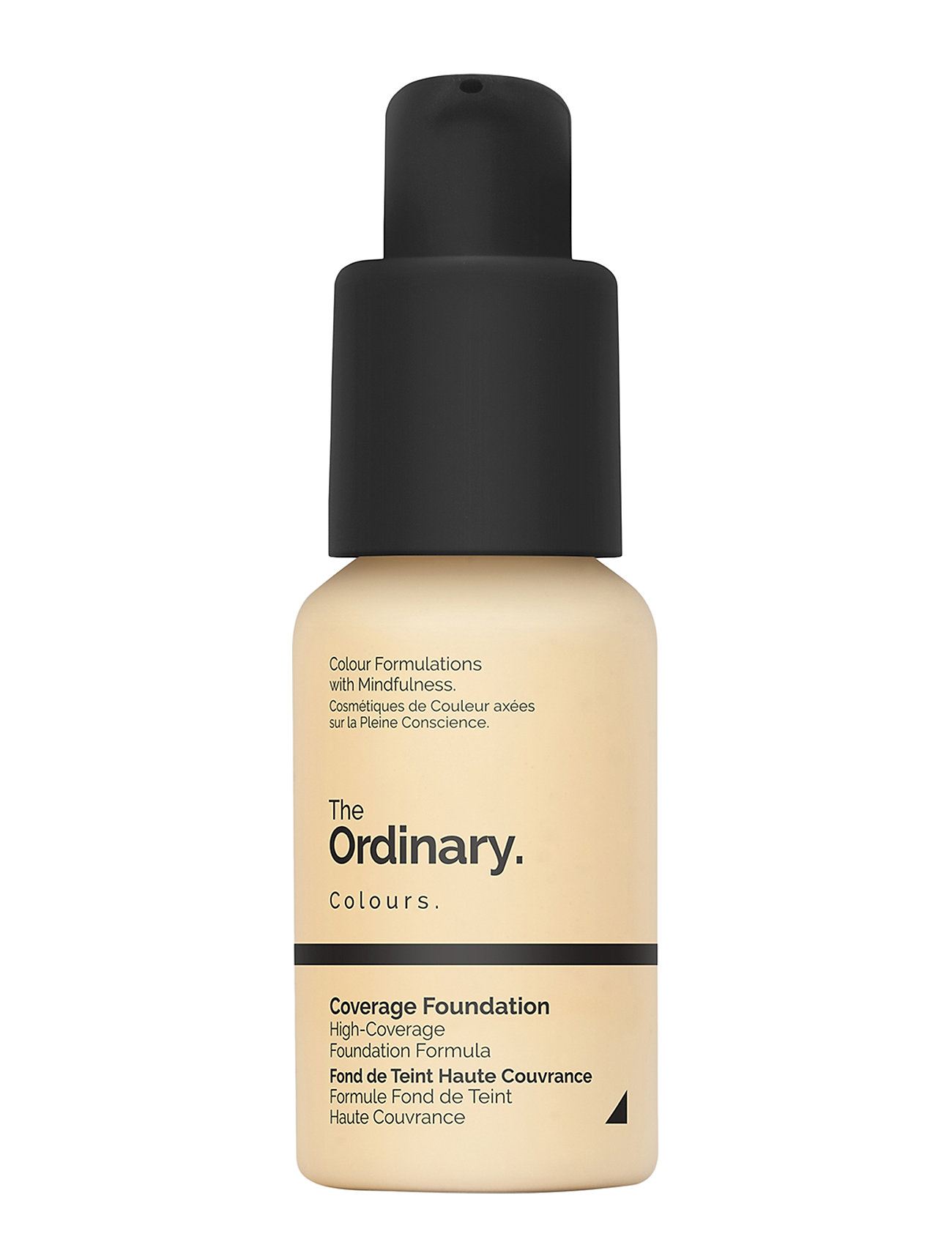 Image of Coverage Foundation 1.2 Y Light Yellow Foundation Makeup The Ordinary (3196660357)