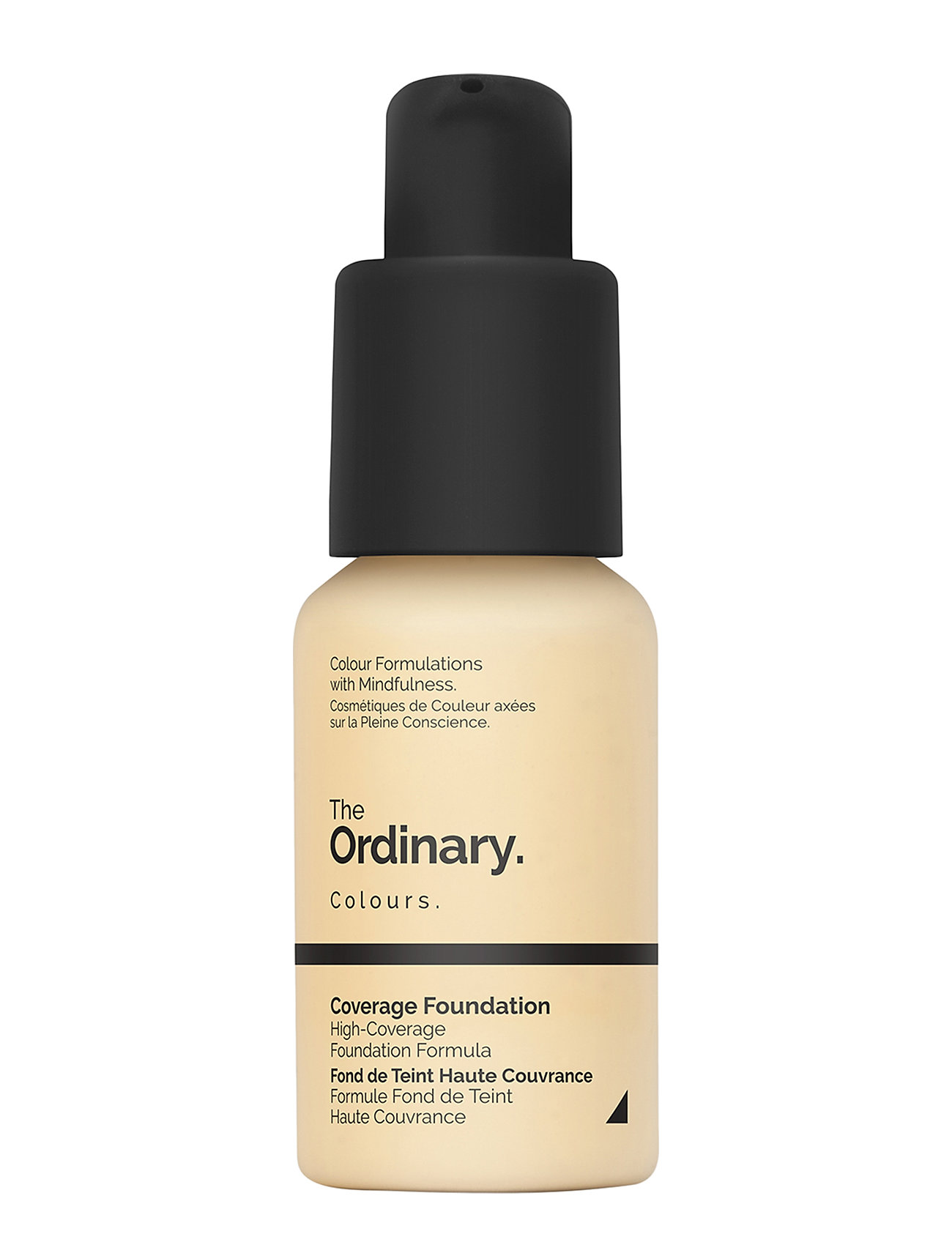 Image of Coverage Foundation 1.2 Yg Light Yellow Gold Foundation Makeup The Ordinary (3196660359)