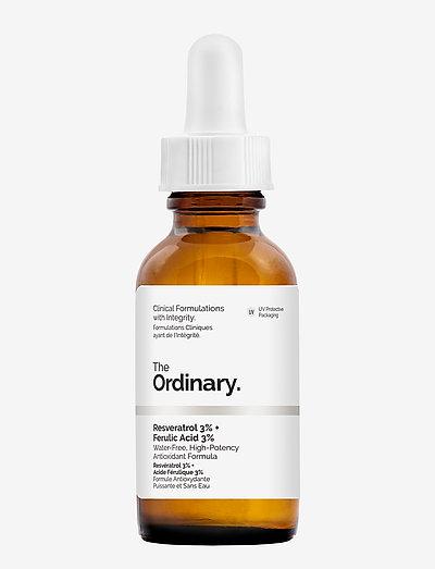 Resveratrol 3% + Ferulic Acid 3% - serum - clear
