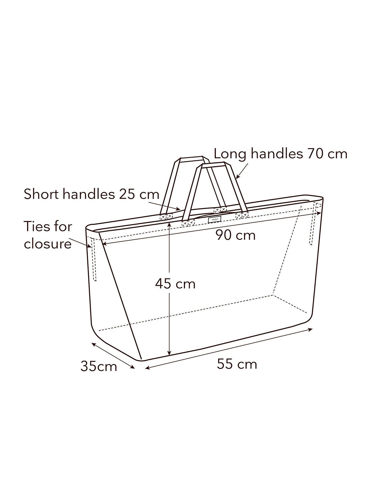 The Organic Company - Big Long Bag IV - totes - 202 stone - 3