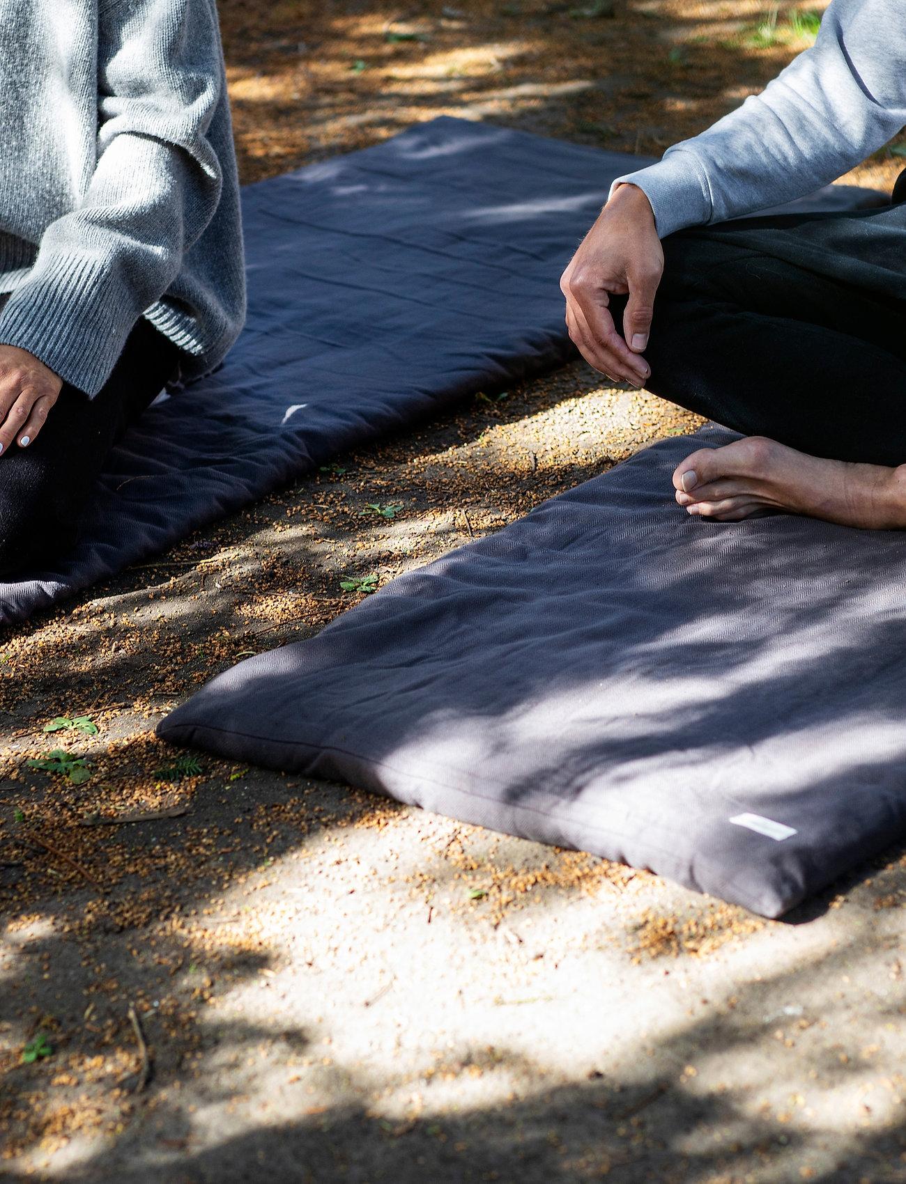 The Organic Company - Meditation Mattress - yogamatten & uitrusting - 110 dark grey - 0