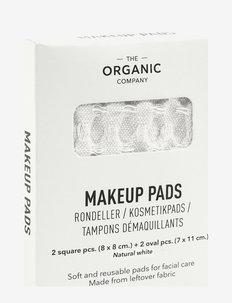 Big Waffle Makeup Pads - makeup remover - 200 natural white