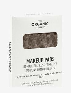 Big Waffle Makeup Pads - makeup remover - 225 clay