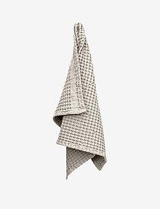 Big Waffle Hand Towel - handdoeken en badhanddoeken - 202 stone