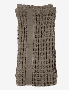 Big Waffle Hand Towel - handdoeken en badhanddoeken - 225 clay