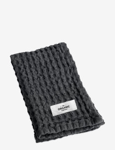 Big Waffle Kitchen and Wash Cloth - keukenhanddoeken - 110 dark grey