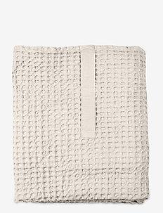Big Waffle Towel and Blanket - handtücher - 202 stone
