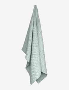 Big Waffle Towel and Blanket - håndklæder - 570 sky