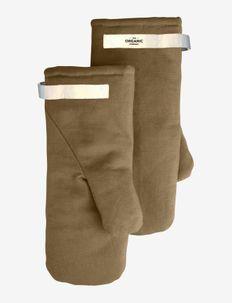 Oven Mitts Medium - pannulaput ja patakintaat - 215 khaki
