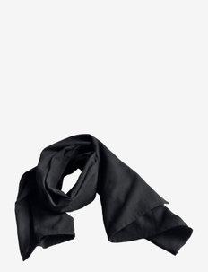Towel Scarf - sjaals - 100 black
