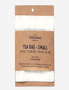 Tea Bag Small - teesiebe - 201 undyed