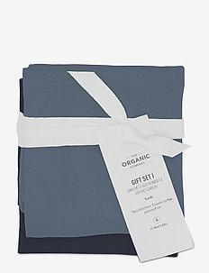 Gift set I (2 kitchen towels) - viskestykker - 953 ocean set color mix