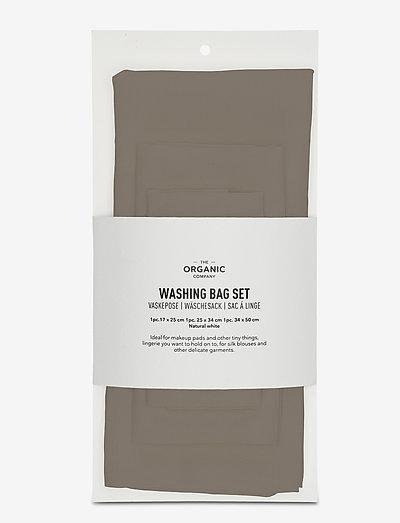 Washing bag Set - skyllemiddel - 225 clay