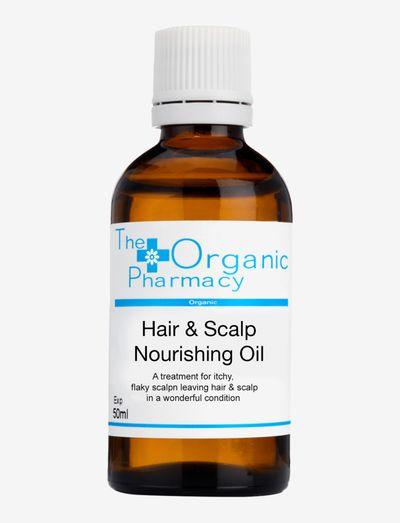 Organic Hair & Scalp Nourishing Oil - håroljor - clear