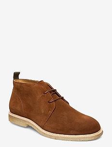 ORG.64 - desert boots - rust