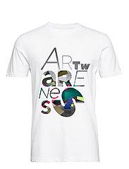 Mikael B. x The Perfect World Foundation T-shirt - WHITE