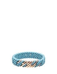 PixelMINI F - PEARL BLUE / PINK GOLD