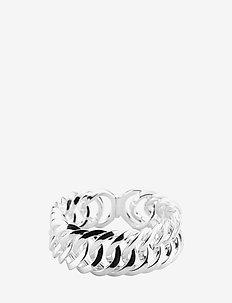 CircleMetal - rings - platin silver