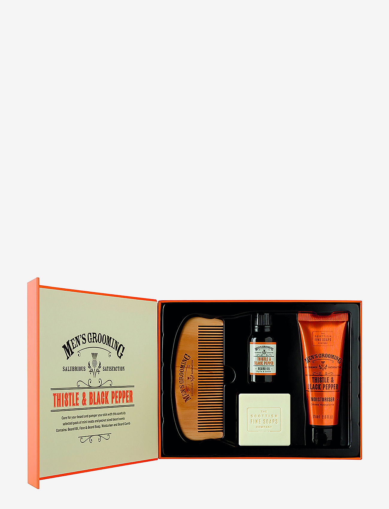 The Scottish Fine Soaps - Face & Beard Care Kit - presentaskar - multi-colored - 0