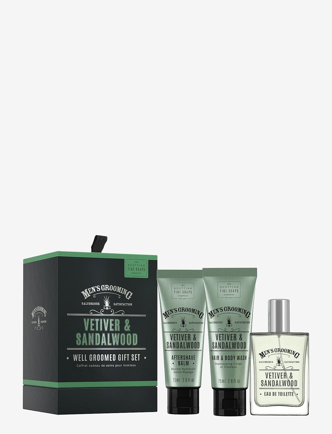 The Scottish Fine Soaps - Well Groomed Gift Set - presentaskar - clear - 0
