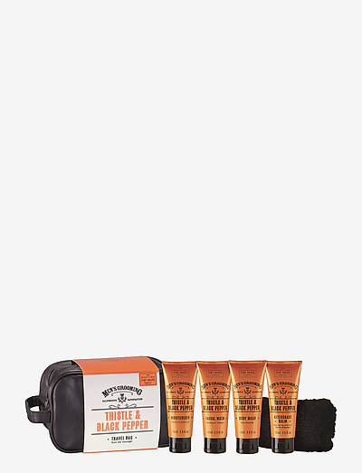 Travel Bag (4 x Tubes, Face Cloth with band) - gavesæt - multi-colored