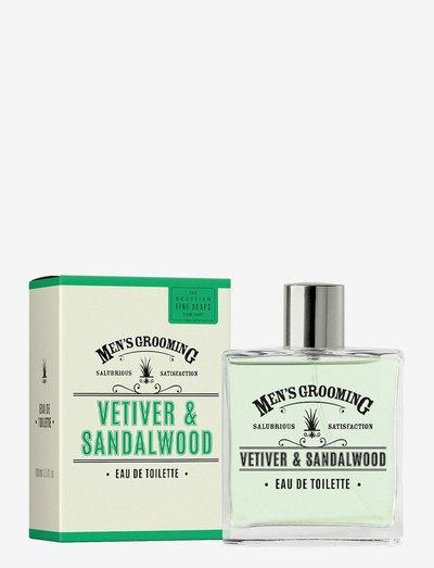 Vetiver & Sandalwood Eau de Toilette - eau de toilette - green