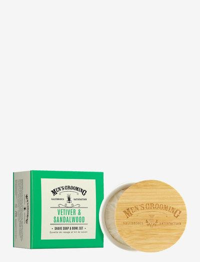 Shave Soap & Bowl Set - beauty giveaways - white