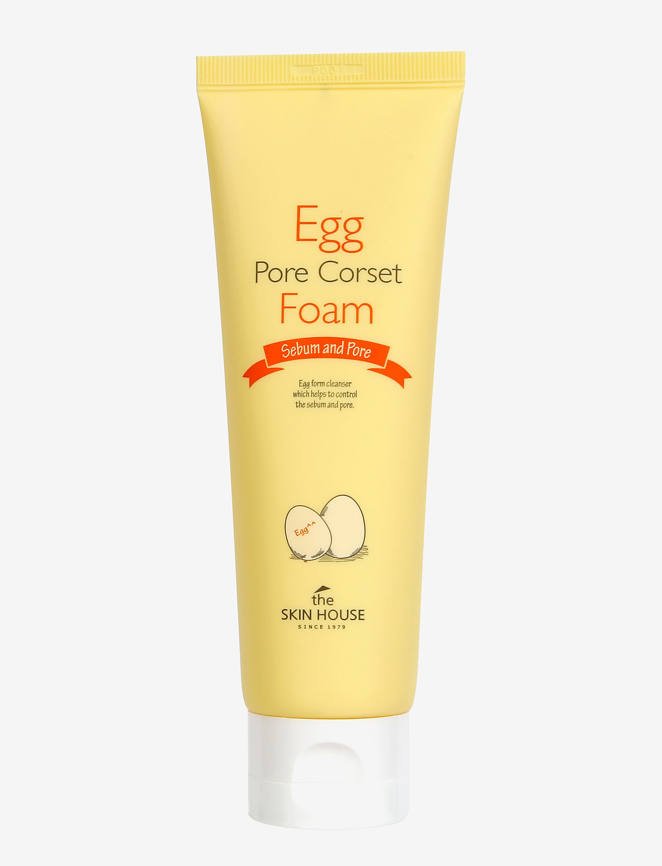THE SKIN HOUSE - The Skin House Egg Pore Corset Foam - puhdistusgeeli - clear - 0