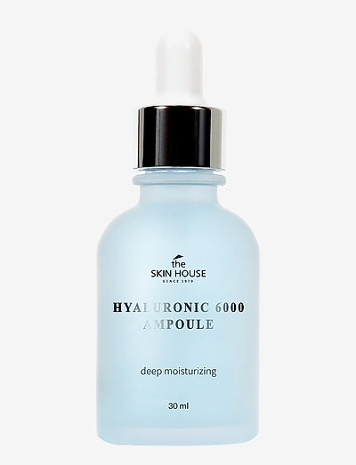 The Skin House Hyaluronic 6000 Ampoule - skintonic & toner - clear