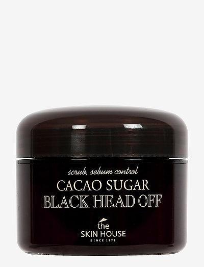 The Skin House Cacao Sugar Black Head Off - peeling - clear