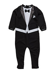 The Tiny Suit Uv-protect Black - BLACK/WHITE/GREY