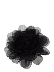 The Tiny Hair Accessory Flower - ALL BLACK