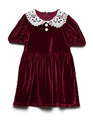 Tiny Victorian/Dress - REAL RED