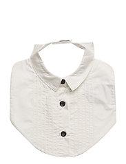 The Tiny Bib/Shirt - WHITE