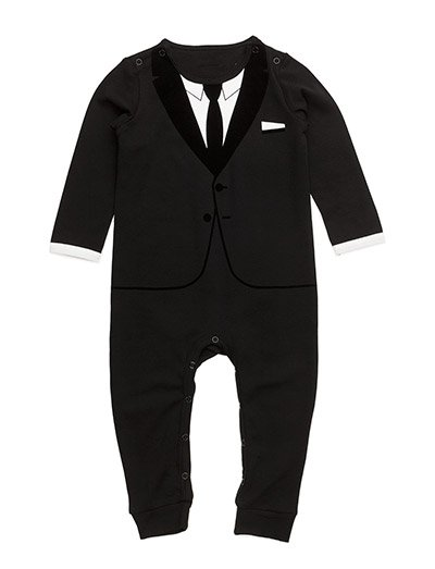 The Casual Suit All Black 54 The Tiny Universe Boozt Com
