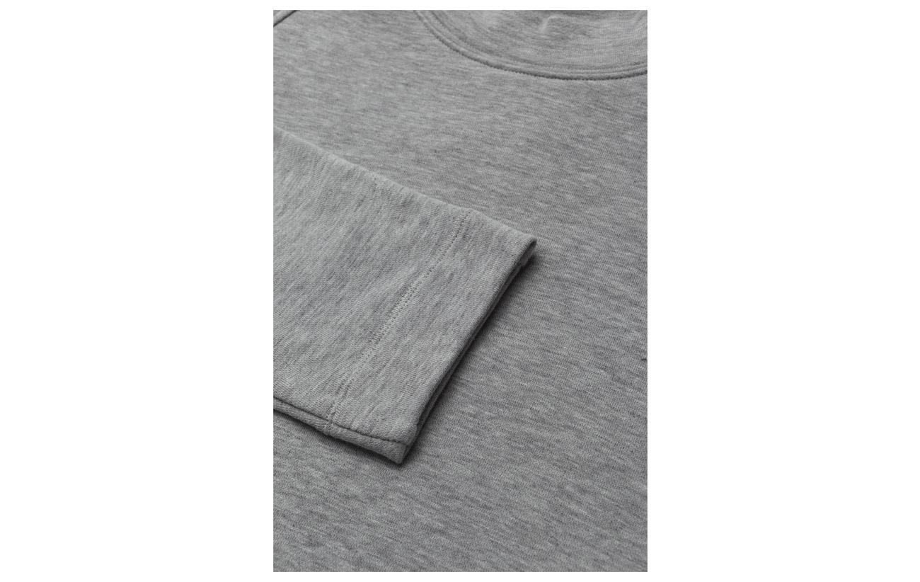 Melange Polyamide Grey Theory 31 Qd0 Raglan Pullover Crew Coton 65 4 Rayonne qxfzt