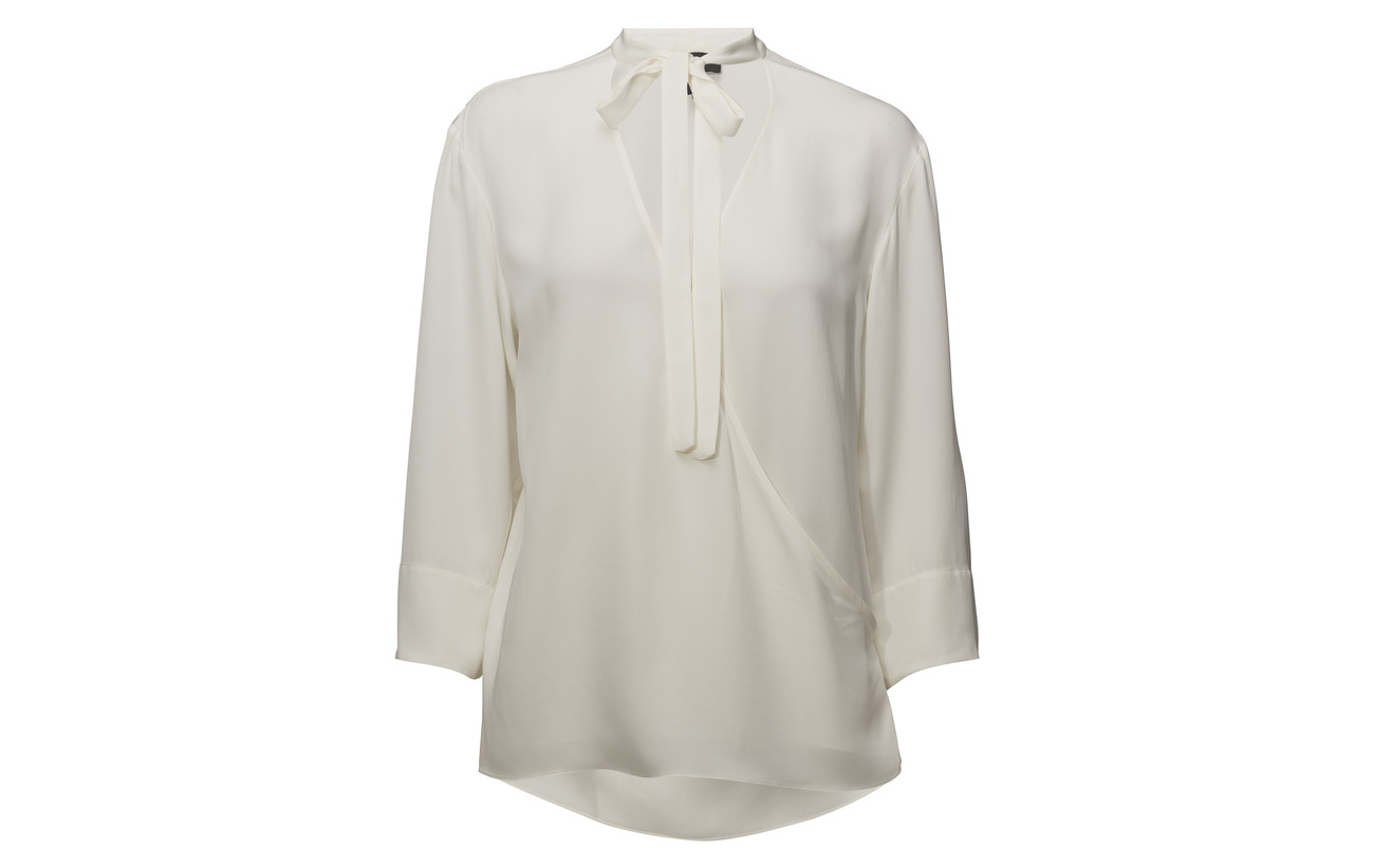 Theory V moder C05 Relaxed Wrap 100 Ivory Soie rEtxrqXw