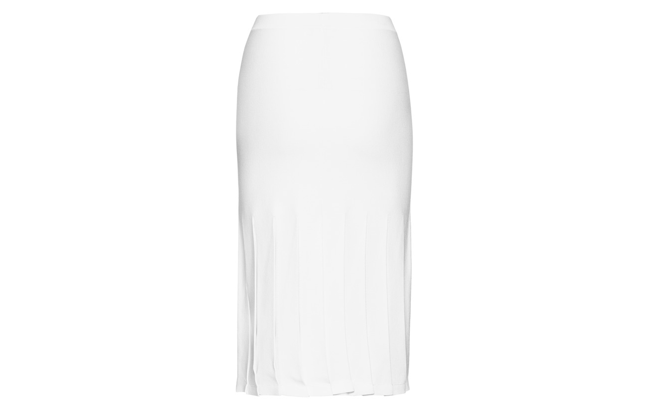 Viscose Theory Fibers 8 prosec Skirt Other ivory Eggshell 2 Polyester 90 Pleated x7O7rqRn