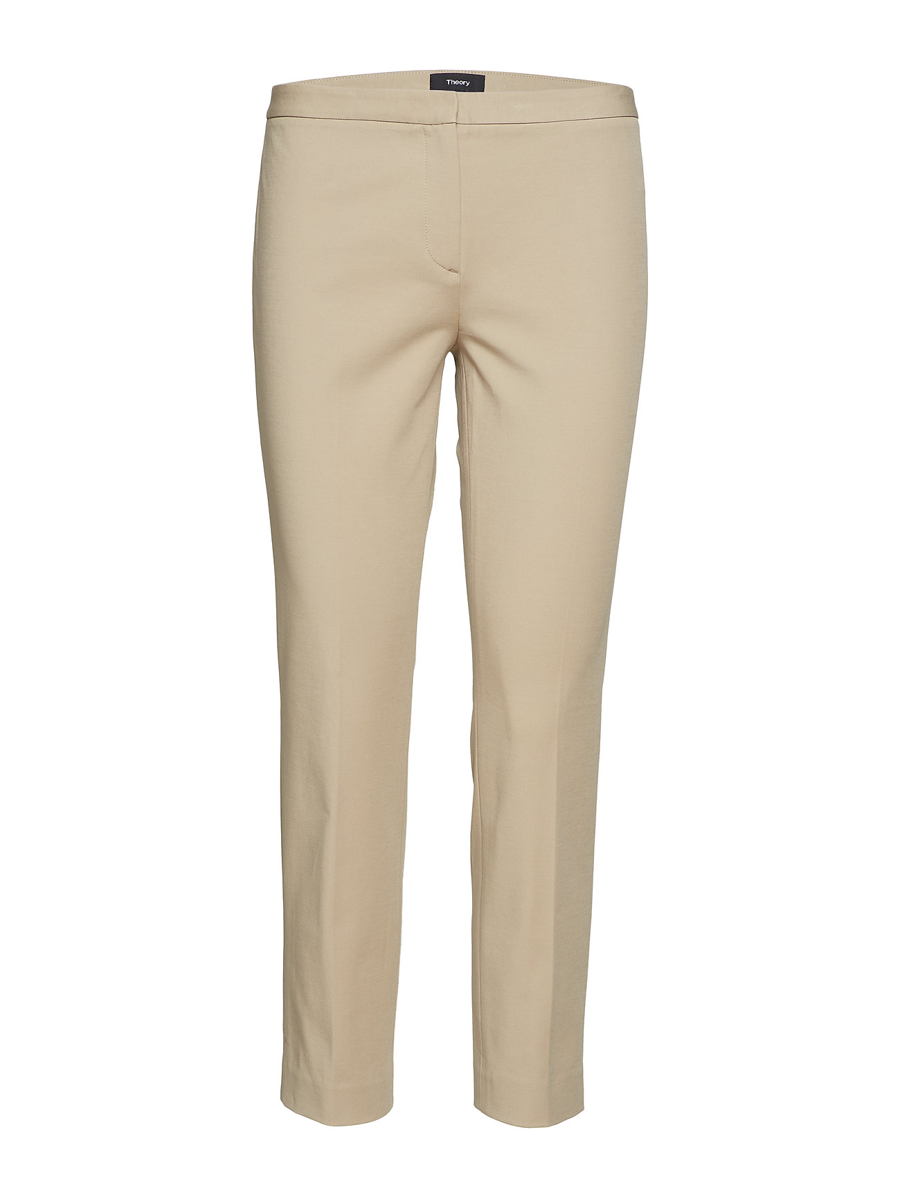 Image of Classic Skinny Pant1 Smalle Bukser Skinny Pants Beige THEORY (3105945483)